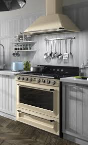 Smeg Cream Victoria Cooker and Hood Stuff to