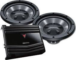 kenwood subwoofer home theater kenwood 150 watt bass package includes kac 1502s 2 channel