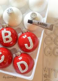 painted ornaments diy beautify