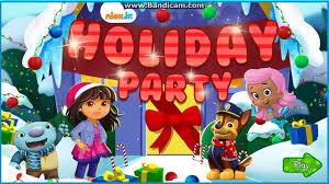christmas games nick jr christmas holiday party game video