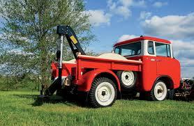 jeep forward control sema 1957 jeep fc150 wrecker backward glances