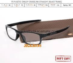 Jual Kacamata Oakley Crosslink jual beli frame kacamata oakley crosslink black trans