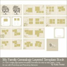 templates for scrapbooking genealogy book template templates franklinfire co