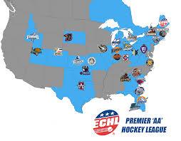 Ithaca Ny Map 2017 18 Echl Team Map The Echl Premier U0027aa U0027 Hockey League