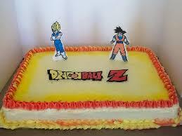 dragon ball z sheet cake cakecentral com
