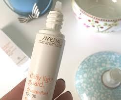 aveda daily light guard new aveda light guard protection spf 30 reviewed i heart beautyi