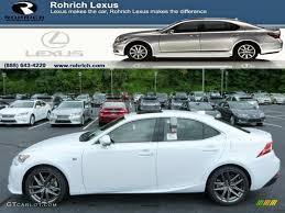 lexus 2014 sport 2014 ultra white lexus is 250 f sport awd 84766843 gtcarlot com