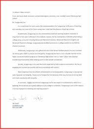 eagle letter of recommendation choice image letter samples format