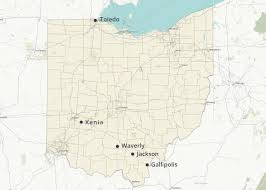 Cities In Ohio Map by Who Has The Cheapest Homeowners Insurance Quotes In Ohio