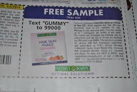 free nature u0027s bounty optimal solutions hair skin and nails