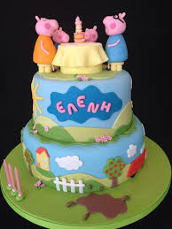 peppa pig cake ideas 132 best peppa images on pig party peppa pig cakes