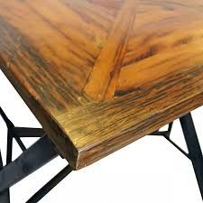 Unfinished Bistro Table Solid Wood Round Pub Table Amish Counter Height Dining Set Full