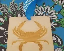 Crab Decorations For Home Crab Ornament Etsy