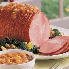 ham with sweet pineapple sauce recipe taste of home