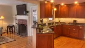 Opened KitchenFamily Room Combo - Define family room