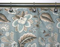 Vintage Floral Shower Curtains Delighted Floral Shower Curtains Fabric Pictures Inspiration