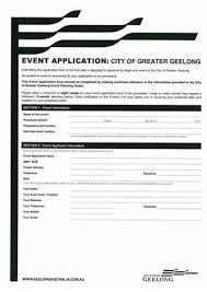 tools and templates for events city of greater geelong