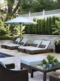 Poolside Furniture Ideas | 34 inspiring backyards retaining walls landscape designs and oasis