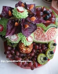 food arrangements garnishfoodblog fruit carving arrangements and food garnishes