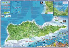 map usvi us islands guide and dive franko s fabulous maps of