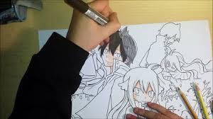 speed drawing manga 4 koro sensei assassination classroom