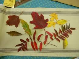Leaf Table Runner Fall Leaves Table Runner Oklahoma Quiltworks