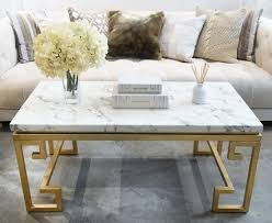 Marble Living Room Table Galatea White Gold Marble Coffee Table Finnavenue Finn