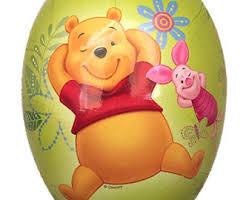 winnie the pooh easter eggs german winnie pooh etsy
