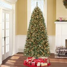 pre lit 7 brookfield fir artificial tree