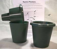 apollo plastics self watering hanging planter set of 4 ebay