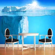 online get cheap ocean paper aliexpress com alibaba group custom 3d photo wall paper antarctic ocean iceberg modern art stereoscopic mural wallpaper living room papel