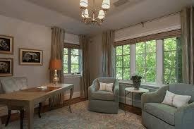 tuscan interior design ideas patterned window shade purple