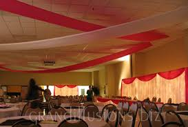 Ceiling Draping For Weddings Wedding Grand Illusions