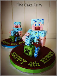 minecraft cake topper minecraft toppers 15 cakes cakesdecor