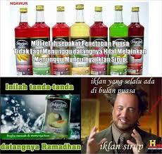 Ramadhan Meme - ramai iklan sirup jelang ramadhan meme kocak pun tak ketinggalan