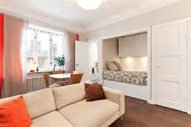 one room apartment design cozy one room apartment with paned windows and parquet floors