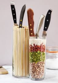 Knives For Kitchen Use Check Out These 3 Diy Knife Blocks For Your Kitchen Quick