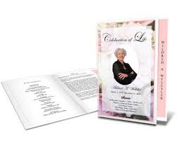 Elegant Funeral Programs 9 Best Sample Funeral Programs Images On Pinterest Funeral