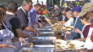 fred mission serves thanksgiving meals to homeless in