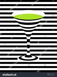 martini green green martini pop art background vector stock vector 516770431