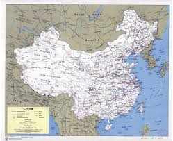China Political Map by Maps Of China Detailed Map Of China In English Tourist Map