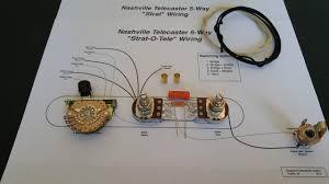 nashville telecaster 5 way wiring kit reverb