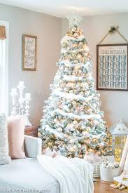 gold christmas tree decorating ideas blush pink and gold christmas tree
