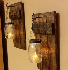 Rustic Candle Sconce Best 25 Rustic Candles Ideas On Pinterest Rustic Candle Holders