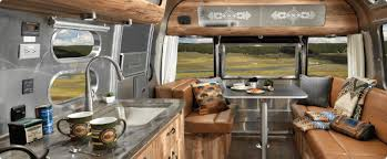 airstream and pendleton equals a perfect travel trailer