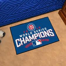 cubs 2016 world series champs starter doormat