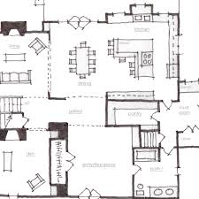 architectural plan architectural plan pencil and in color