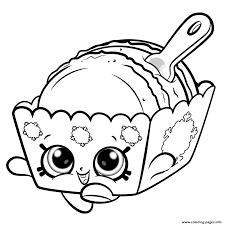 Shopkins Coloring Pages Free Printable A Coloring Sheet