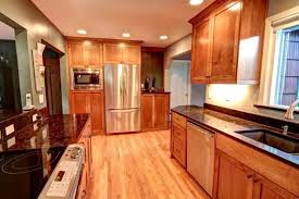 galley style kitchen remodel ideas easy galley kitchen remodel ideas home design and decor