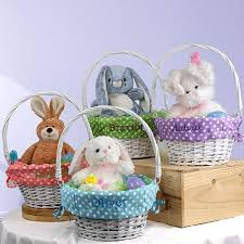personalized wicker easter baskets personalized easter baskets category giftshappenhere gifts